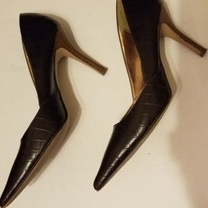 Rampage womens high heel shoes. Size 7.